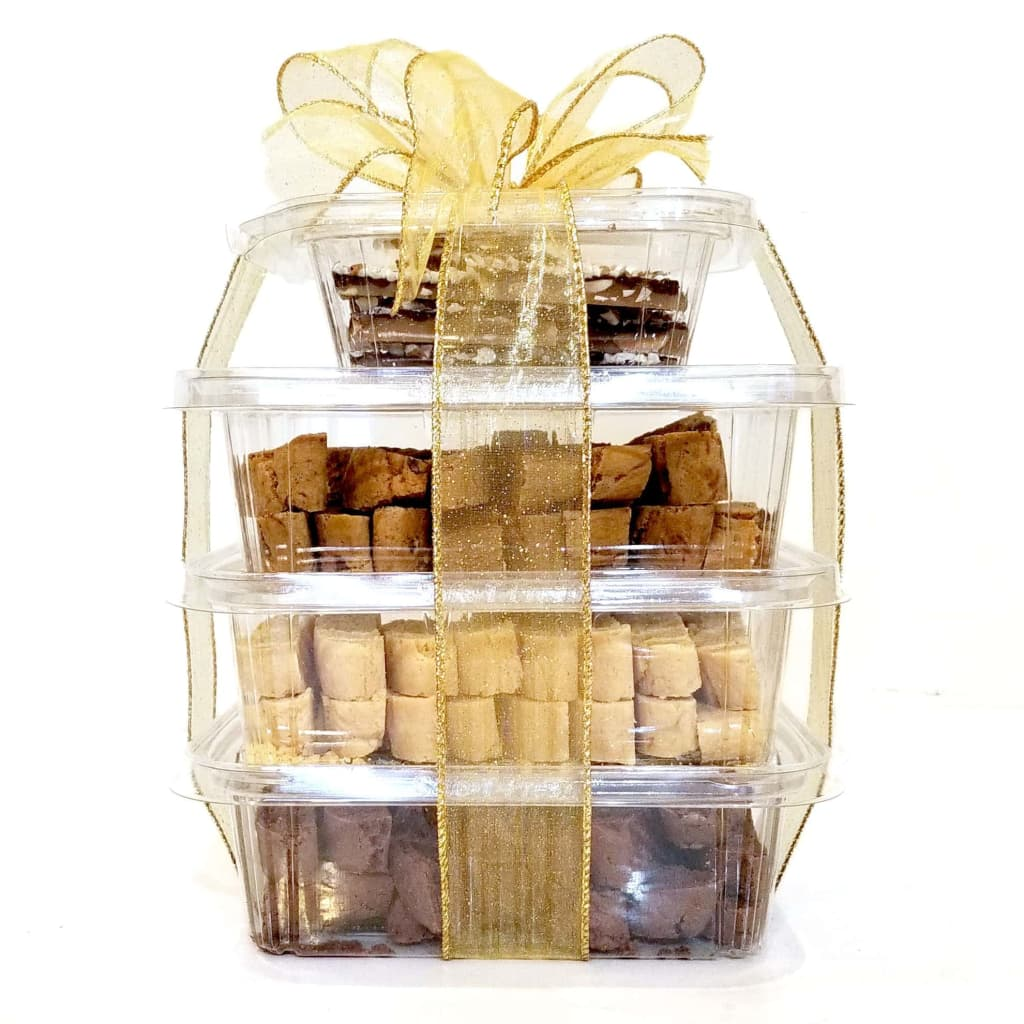 Design your own gift tower sugar free bellas home baked goods negle Image collections