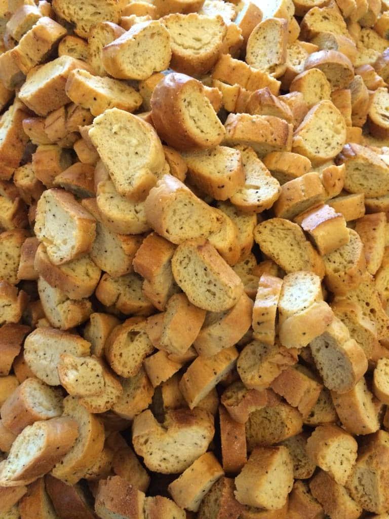 Garlic Pepper Biscuits