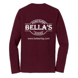 Long Sleeve Shirt (Maroon)