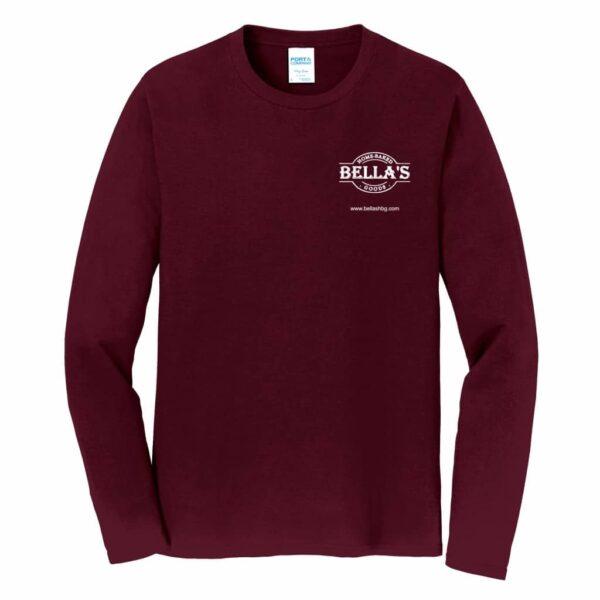 Long Sleeve Shirt (Maroon)