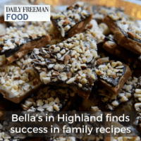 Bella's in Highland finds success in family recipes