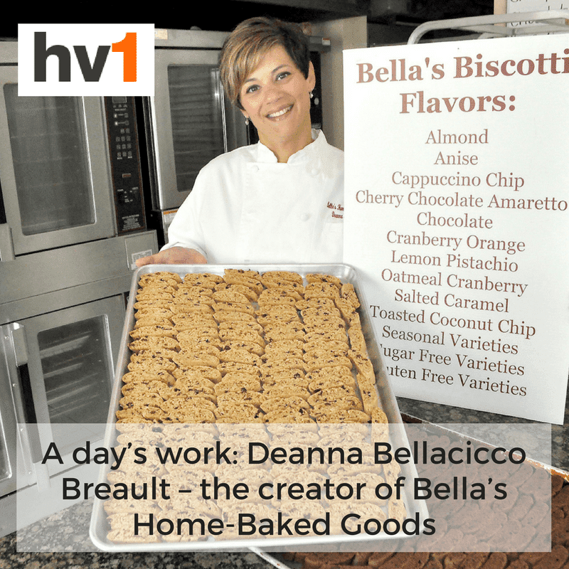 A day's work: Deanna Bellacicco Breault – the creator of Bella's Home-Baked Goods